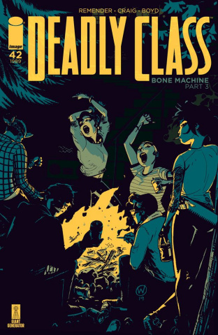 Deadly Class #42 (Craig Cover)