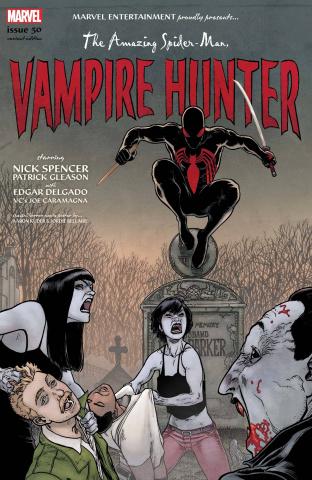 The Amazing Spider-Man #50 (Kuder Spider-Man Vampire Hunter Horror Cover)