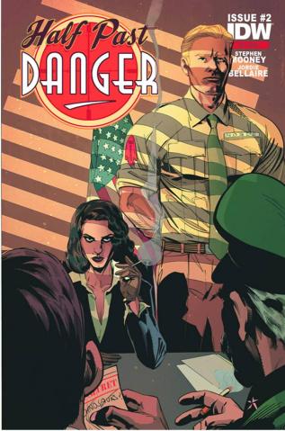 Half Past Danger #2 (2nd Printing)
