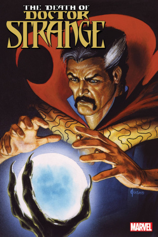 The Death of Doctor Strange #2 (Marvel Masterpieces Cover)
