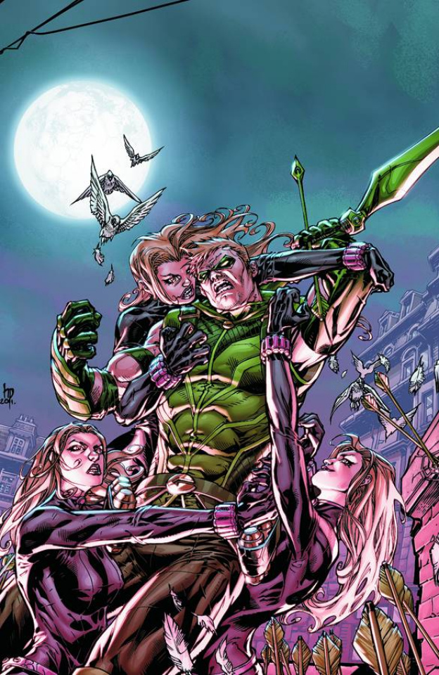 Green Arrow Vol. 2: Triple Threat