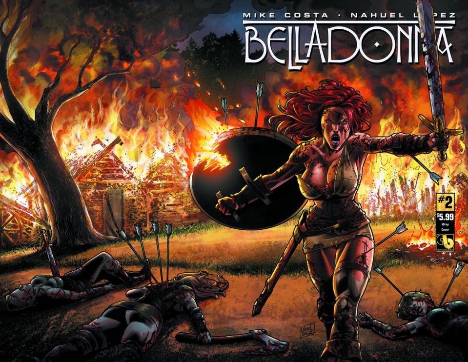 Belladonna #2 (Wrap Cover)