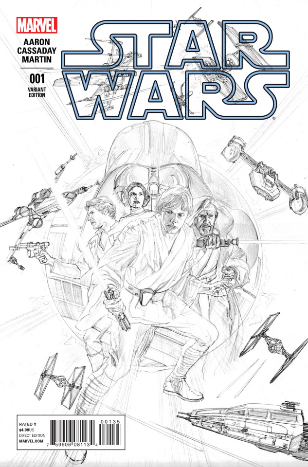 Star Wars #1 (Ross Sketch Cover)