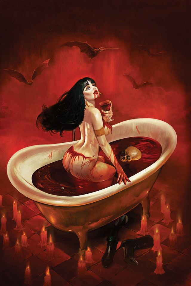 Vampirella #5 (Dalton Virgin Cover)