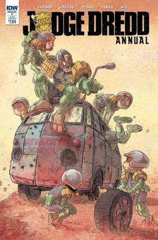 Judge Dredd Annual #1 (Subscription Cover)