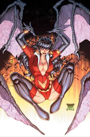 Vampirella: The Dark Powers #3 (Robson Virgin Cover)