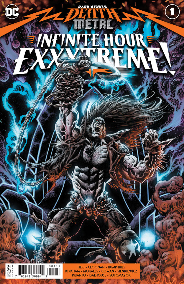 Dark Nights: Death Metal - Infinite Hours Exxxtreme! #1 (Kyle Hotz Cover)