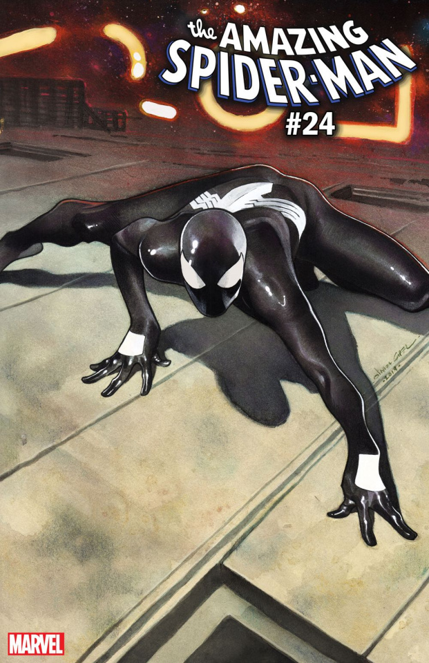 The Amazing Spider-Man #24 (Coipel Spider-Man Webbing Suit Cover)