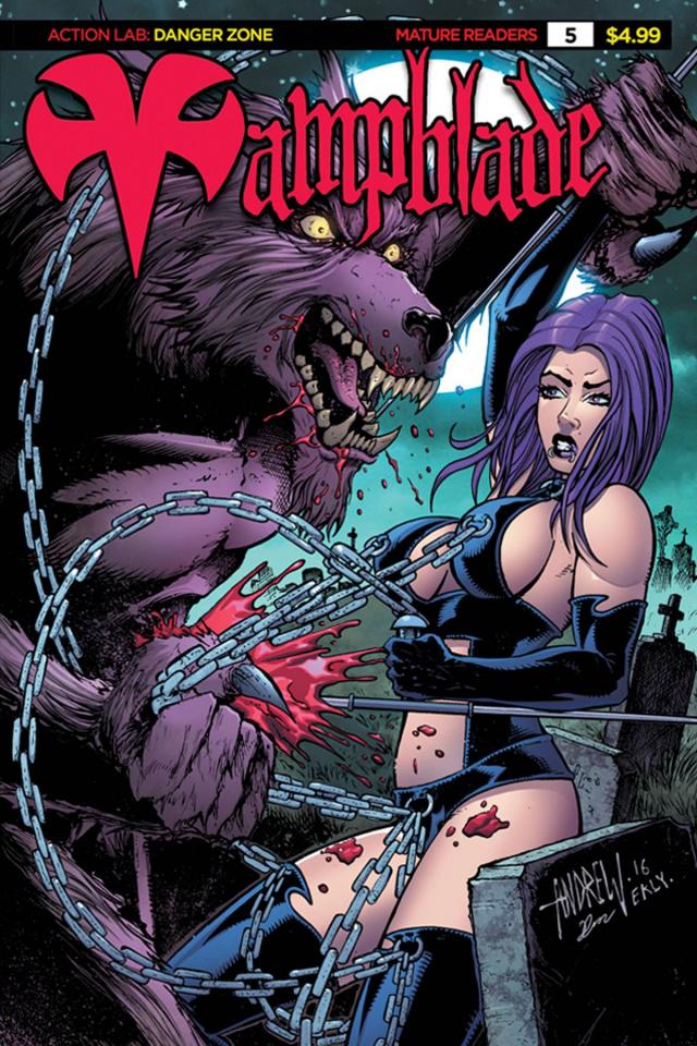 Vampblade #5 ('90s Monster Cover)