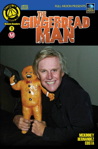 The Gingerdead Man #3 (Gary Busey Photo Cover)