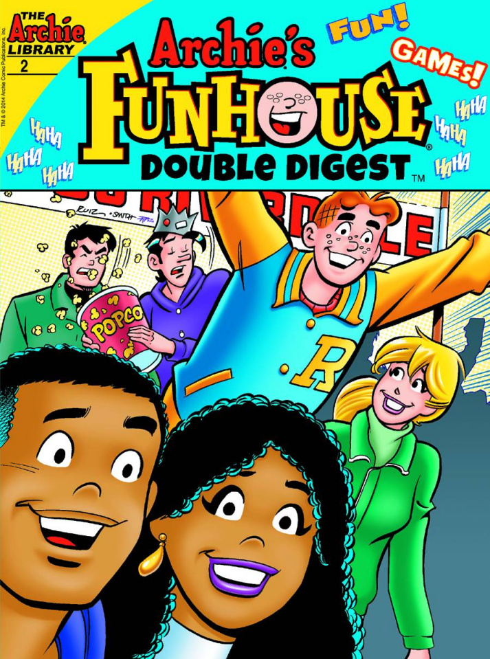 Archie's Funhouse Comics Double Digest #2