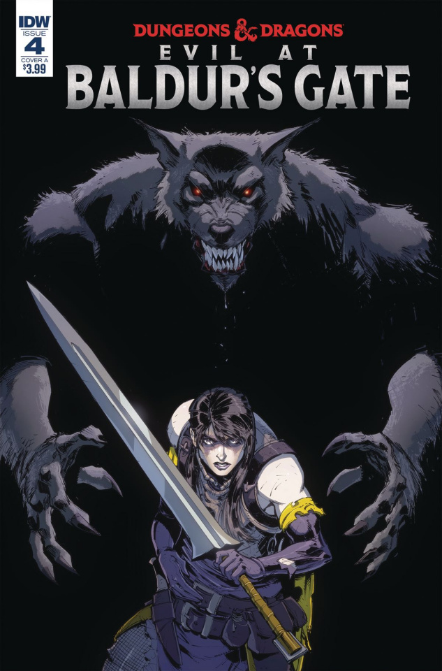 Dungeons & Dragons: Evil At Baldur's Gate #4 (Dunbar Cover)