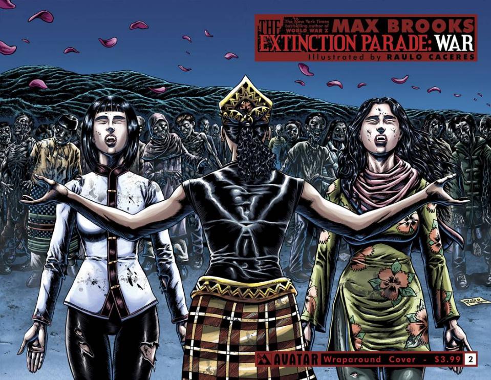 The Extinction Parade: War #2 (Wrap Cover)