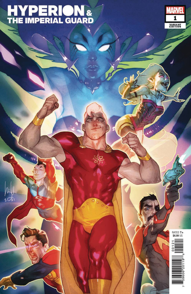 Heroes Reborn: Hyperion and The Imperial Guard #1 (Caldwell Cover)