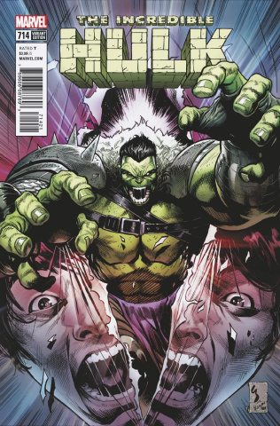 The Incredible Hulk #714 (Shaw Cover)