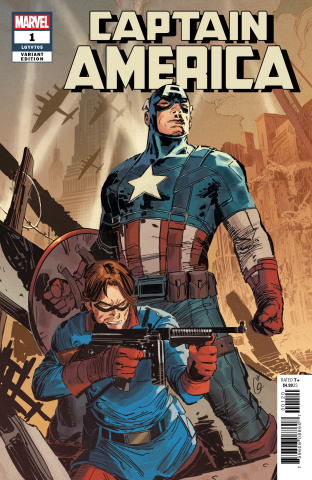 Captain America #1 (Garney Cover)