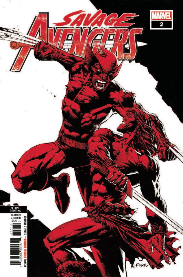 Savage Avengers #2 (Deodato 2nd Printing)