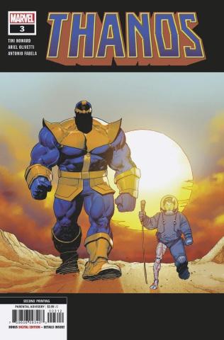 Thanos #3 (Olivetti 2nd Printing)