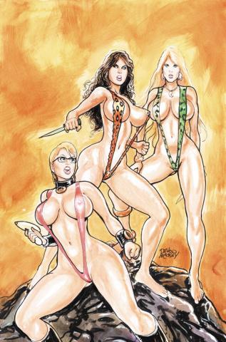 Cavewoman: Battle Ankha's Brood #2 (Massey Cover)