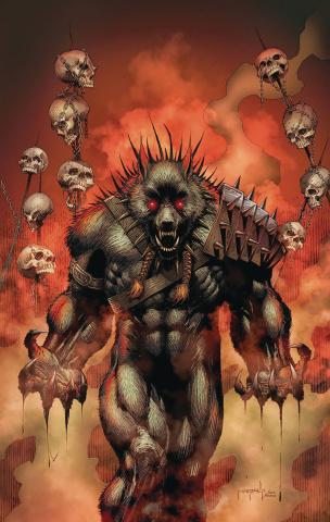 Van Helsing vs. The League of Monsters #4 (Metcalf Cover)