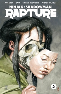 Rapture #3 (Jones Cover)