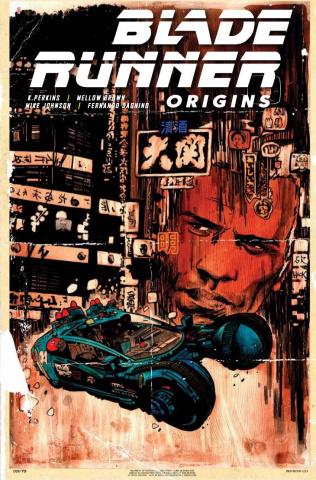 Blade Runner: Origins #1 (Hack Cover)