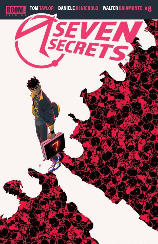 Seven Secrets #8 (Di Nicuolo Cover)