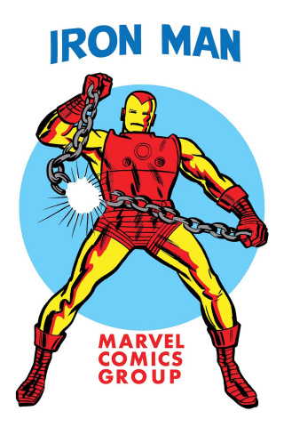 Invincible Iron Man #593 (Kirby 1965 T-Shirt Cover)