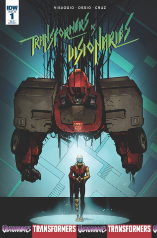 The Transformers vs. The Visionaries #1 (20 Copy Cover)