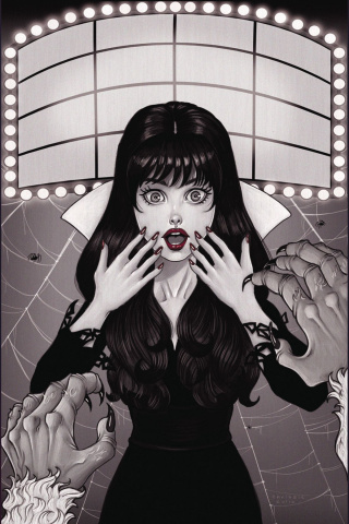 Vampirella #6 (10 Copy B&W Cover)