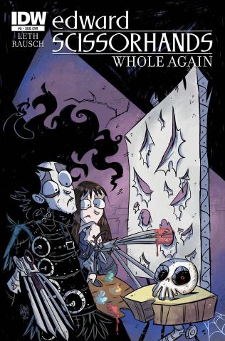 Edward Scissorhands #8 (Subscription Cover)