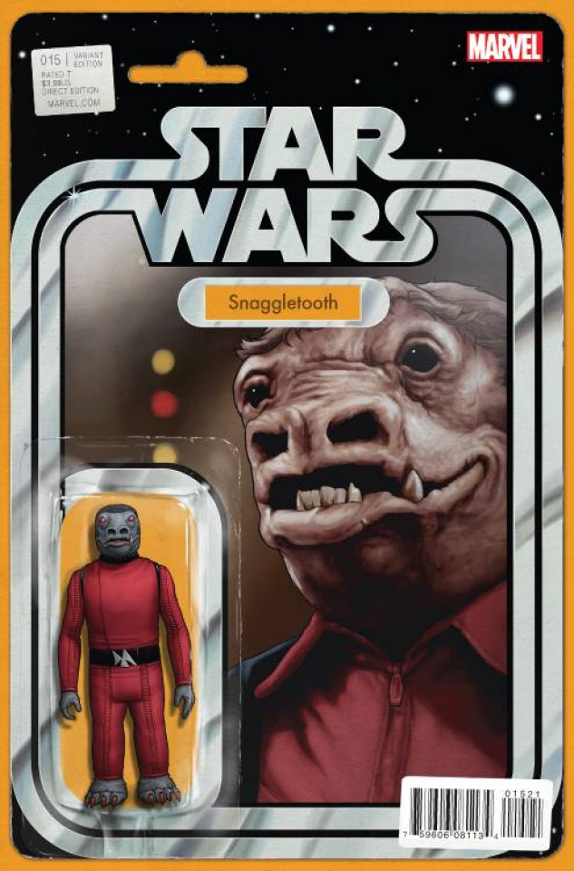 Star Wars #15 (Christopher Action Figure Cover)