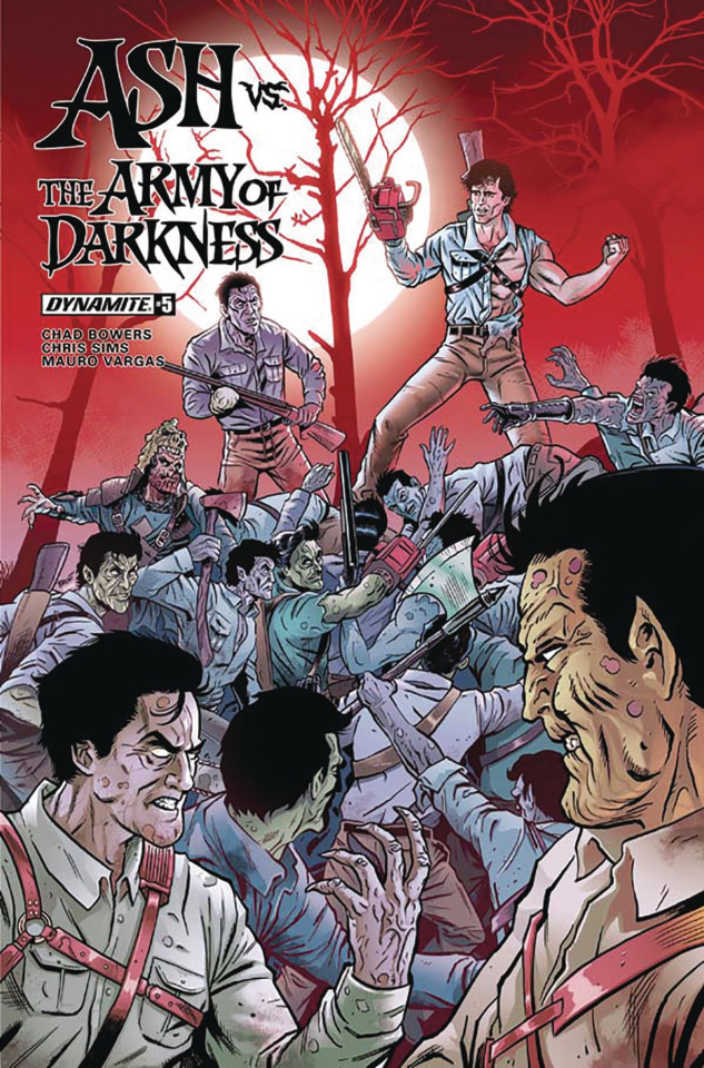 Ash vs. The Army of Darkness #5 (Schoonover Cover)
