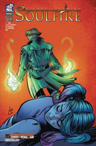 Soulfire #5 (Ladjouze Cover)