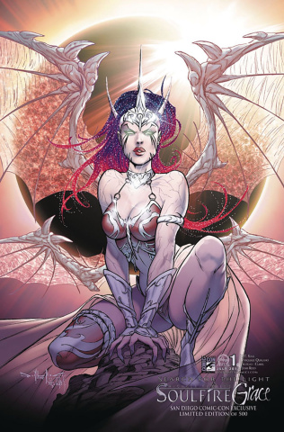 Soulfire: Grace #1 (SDCC 2012 Cover)