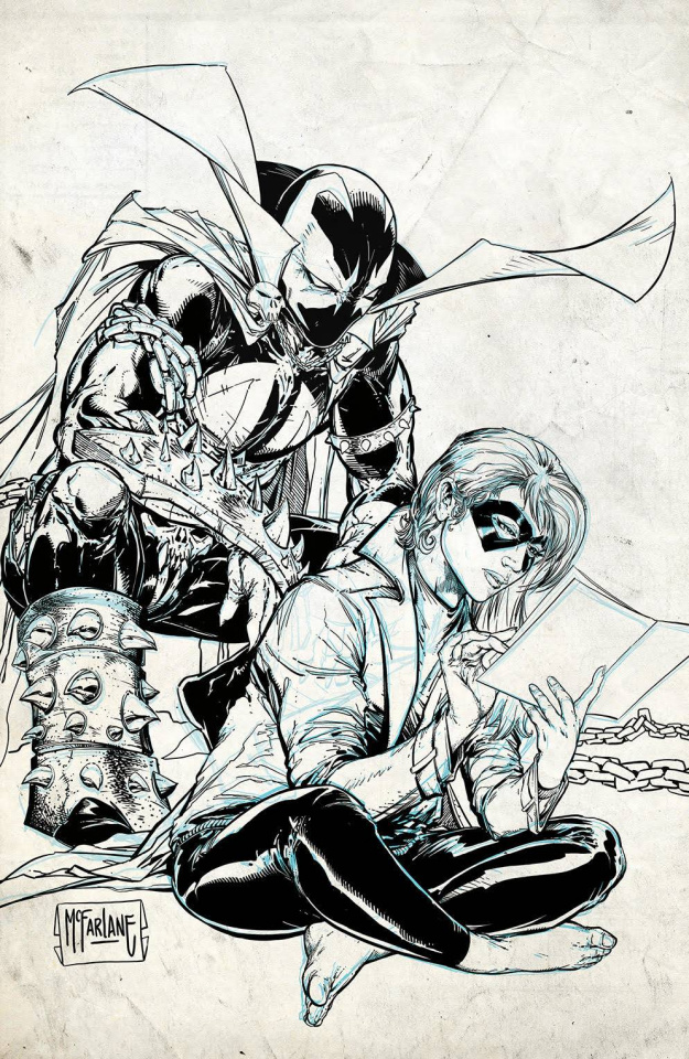 Crossover #3 (100 Copy McFarlane Raw Cover)