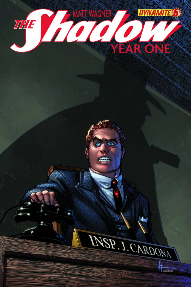The Shadow: Year One #6 (Chaykin Cover)
