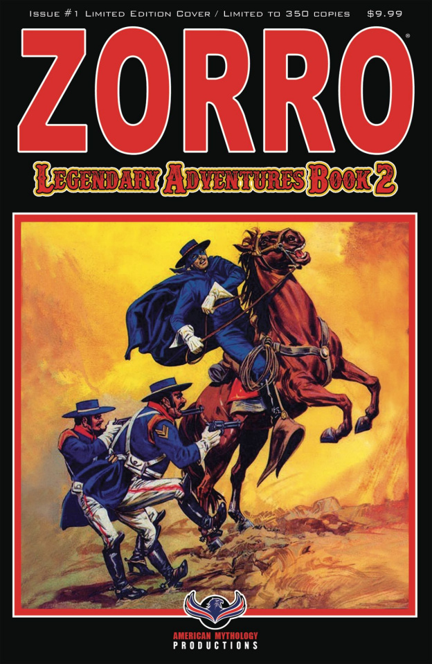 Zorro: Legendary Adventures, Book 2 #1 (Blazing Blades Cover)