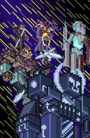 Armor Hunters #3 (Valiantcraft Cover)