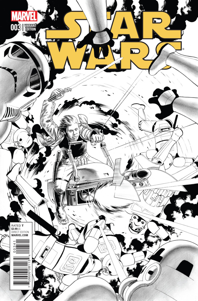 Star Wars #3 (Cassaday Sketch Cover)