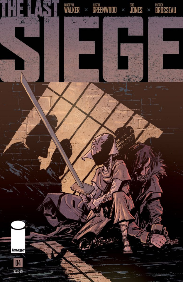 The Last Siege #4 (Greenwood Cover)