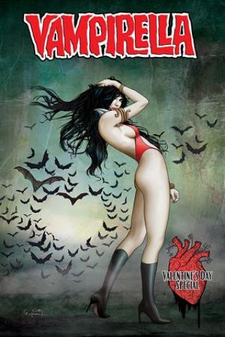 Vampirella: Valentine's Day Special #1 (Gunduz Cover)