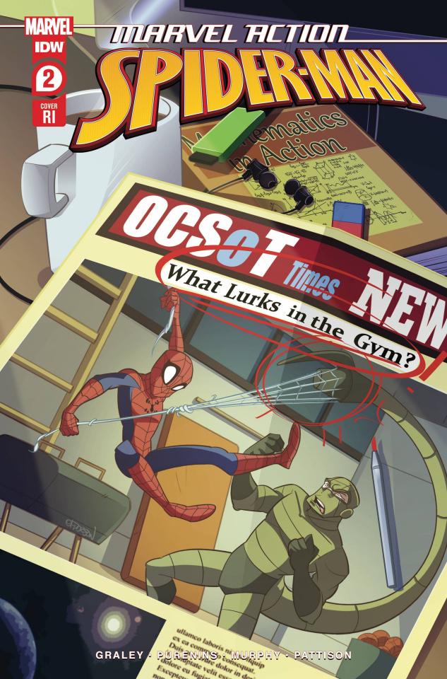Marvel Action: Spider-Man #2 (10 Copy Florean Cover)
