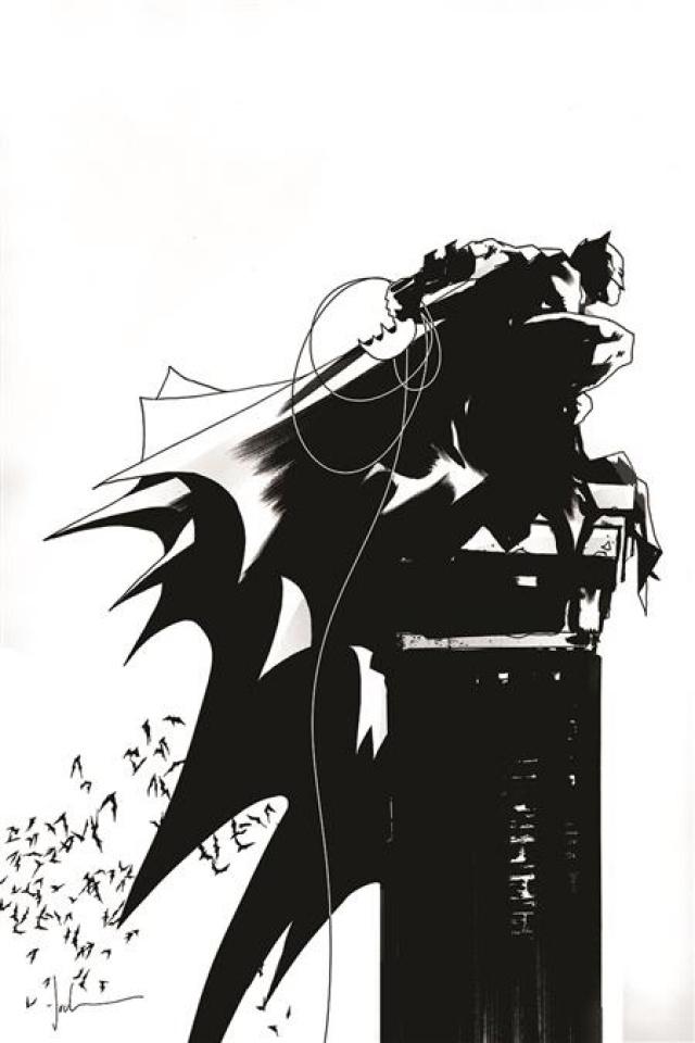 Batman: Black & White #2 (Jock Cover)