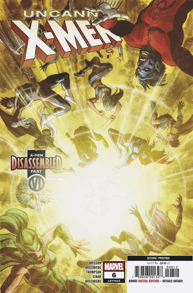 Uncanny X-Men #6 (Cinar 2nd Printing)