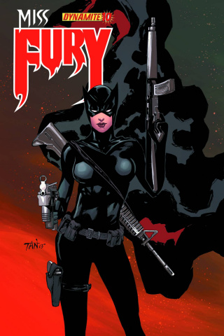 Miss Fury #10 (Tan Cover)