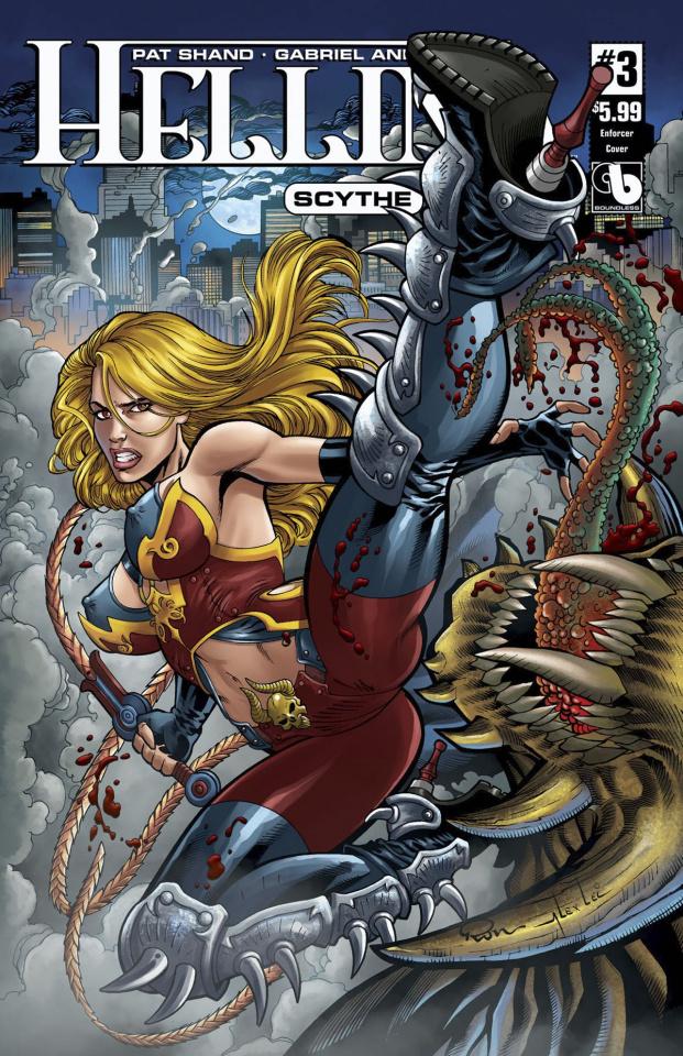 Hellina: Scythe #3 (Enforcer Cover)