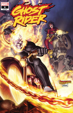 Ghost Rider #6 (Yoon Spider-Woman Cover)