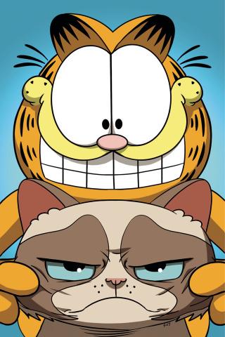 Grumpy Cat / Garfield #2 (20 Copy Uy Cover)