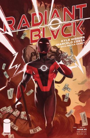 Radiant Black #2 (Greco Cover)